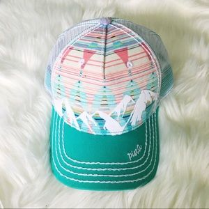 Pistil Mountain design hat